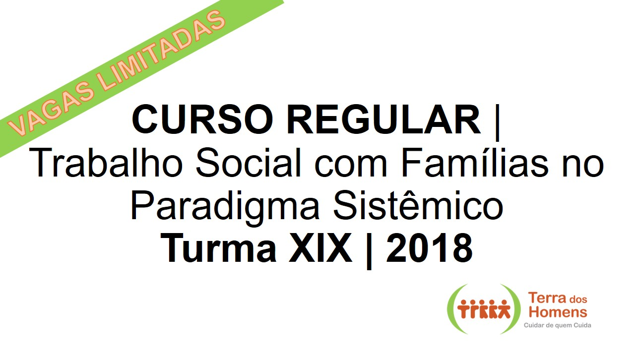 Curso regular divulga  o 2018